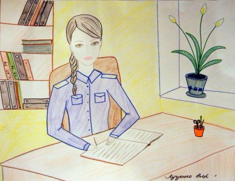 Рисунок мама папа